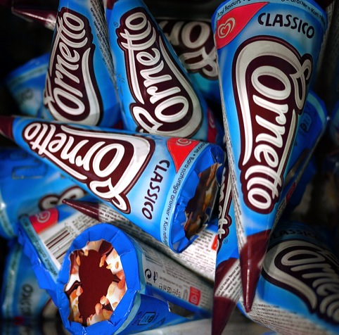 Cornetto designs by Carter Wong