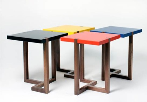 Piet table by Hugo Passos at MOST