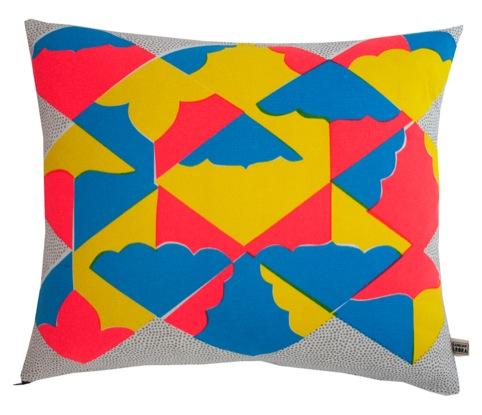 Kites Cushion, by Kangan Arora Design