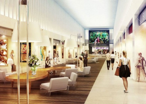 Plans for the new Mailbox centre Harvey Nichols store