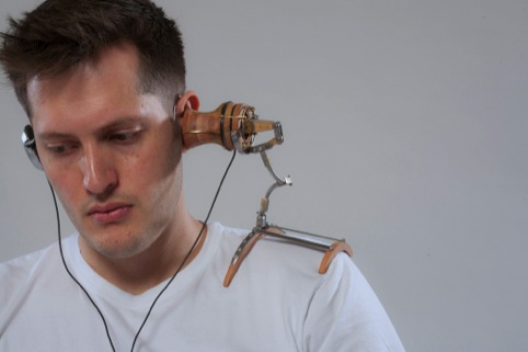 Headphones by Paolo Goldstein