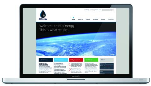 BB Energy website
