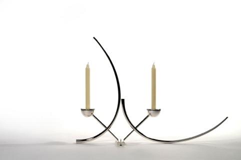 Silver Candlestick by Brett Payne