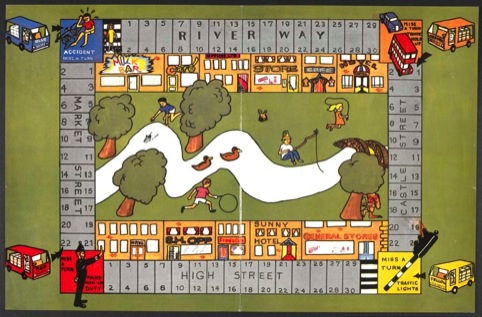 Board game commissioned by the Milk Marketing Board