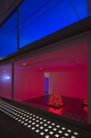 Installation View, Tatsuo Miyajima, Lisson Gallery 25 Nov 2009 - 16 Jan 2010