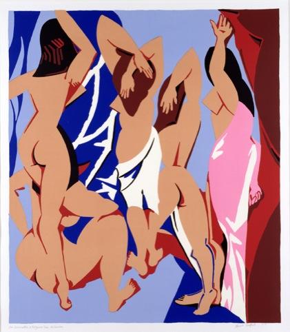 Les Demoiselles d'Avignon vue de Derriere, 1999