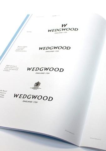 Historical development of the Wedgwood logo