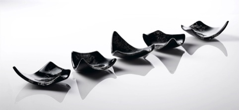 Glass Dishes by Michelle Keeling