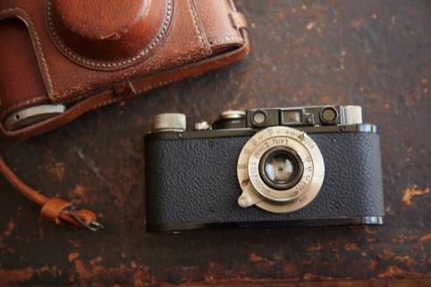 Robert Capa's camera