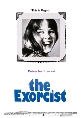 Alternate poster for The Exorcist