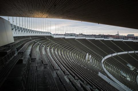 The Olympic stadium in Helsinki