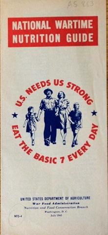 US War Food Administration pamphlet