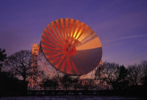 The telescope at Jodrell Bank Observatory which inspired Design Dialogue