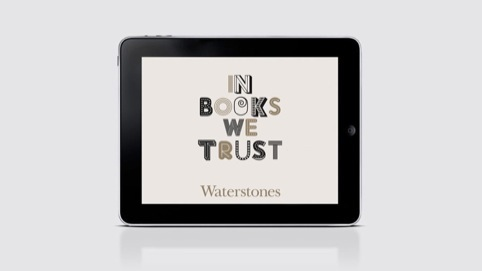Venture Three continues to work for Waterstones