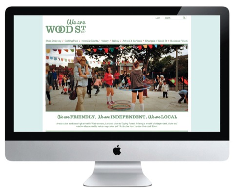 Wood Street website