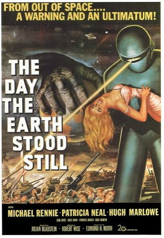 The Day the Earth Stoood Still poster