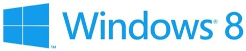 The Windows 8 identity by Pentegram partner Paula Scher
