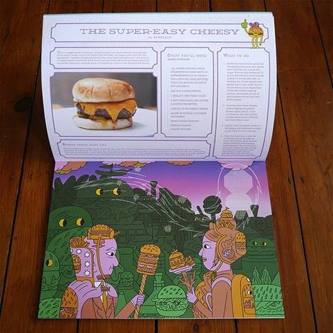 Burgermat