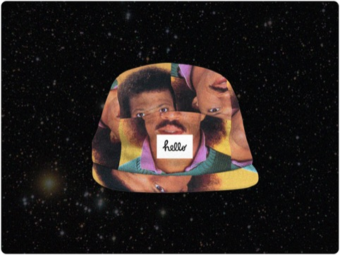 Put Lionel Richie's head on your head