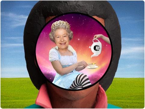 Having tea in Lionel Richie's head