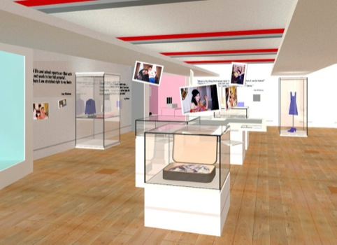 Amy Winehouse Jewish Museum exhibition concept visual