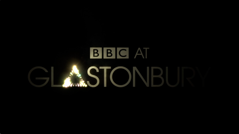 BBC Glasonbury identity building up