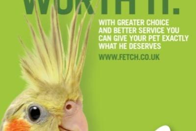Fetch 'Cos Im worth it' campaign image