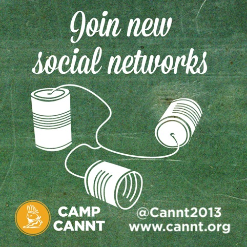 Join new social networks