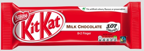 The new system shown on Kit-Kat packaging