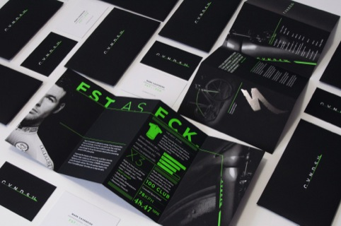 'Fst as fck' print material