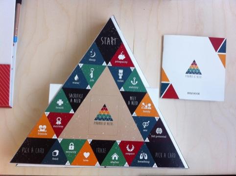 Noura Assaf design and interaction Pyramid of Needs game