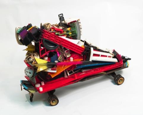 Rammellzee Color Letter Racer Z (c.1988)