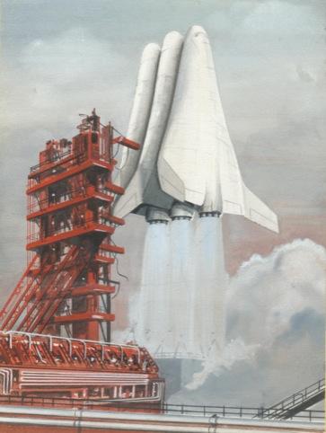 The Mustard hypersonic Space plane, designed in 1964