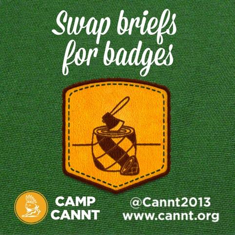 Swap briefs for badges