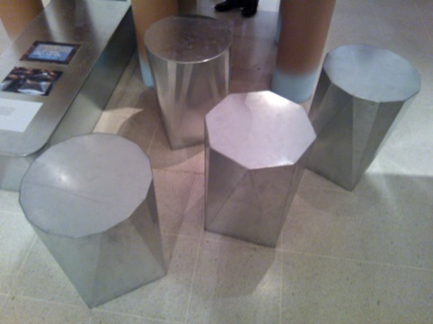 Pro Ducts stools, by David Steiner