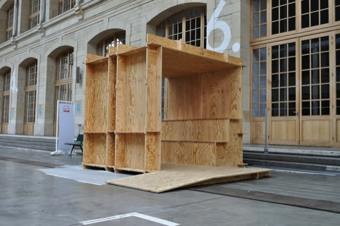 Wikihouse being built