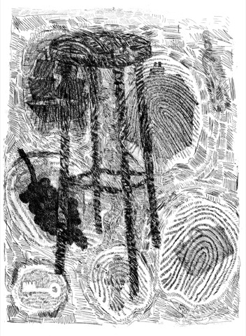 Chairs-Etching