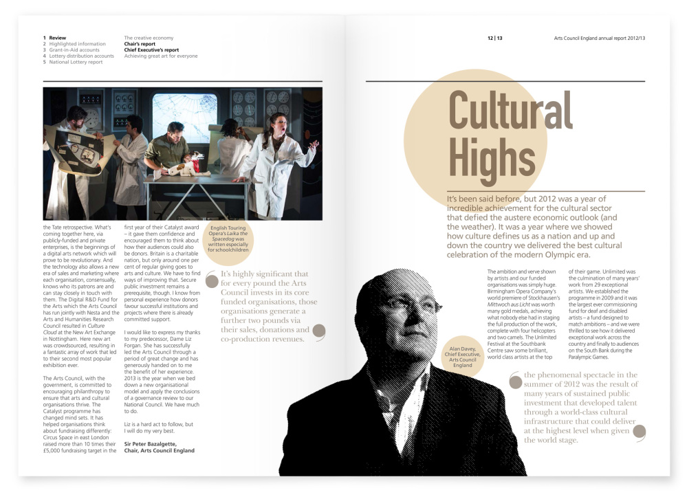 Cultural highs pages