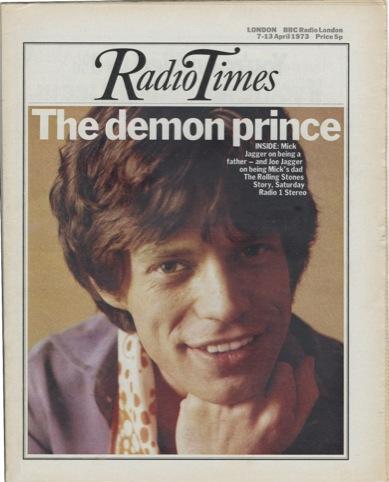 07.04.1973 Mick Jagger