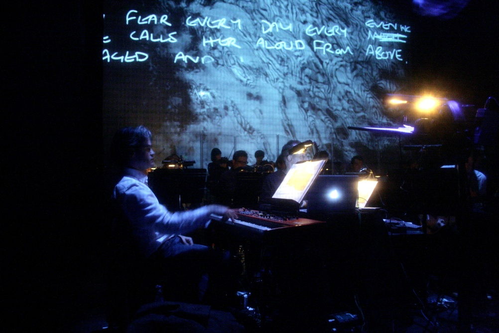 Some of the visuals incorporate Ian Curtis' handwriting