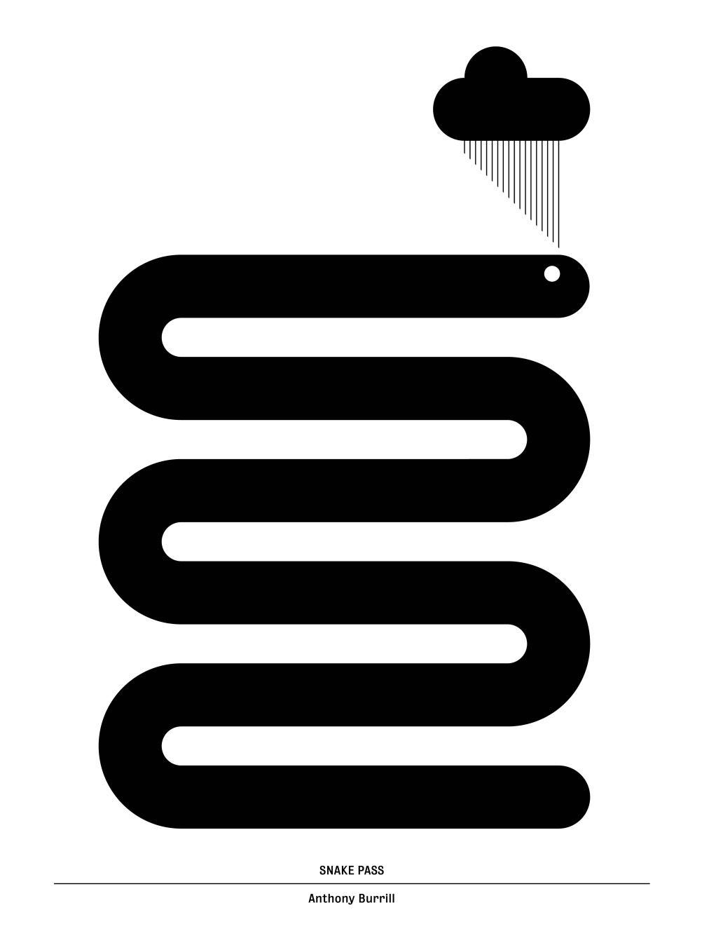 Snake Pass, by Anthony Burrill