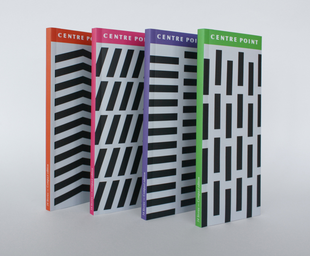 Eley Kishimoto patterns on the Centre Point book covers