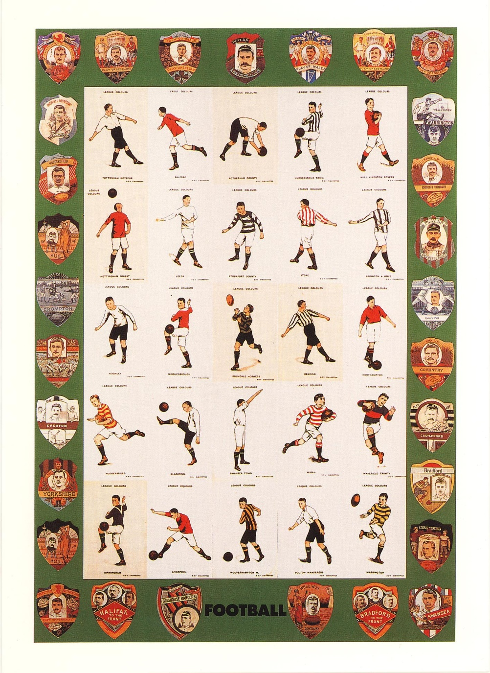 F is For Football by Peter Blake
