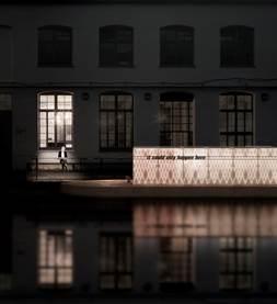 Floating Cinema 2013 design Duggan Morris Architects.