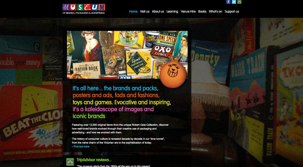 The new site design