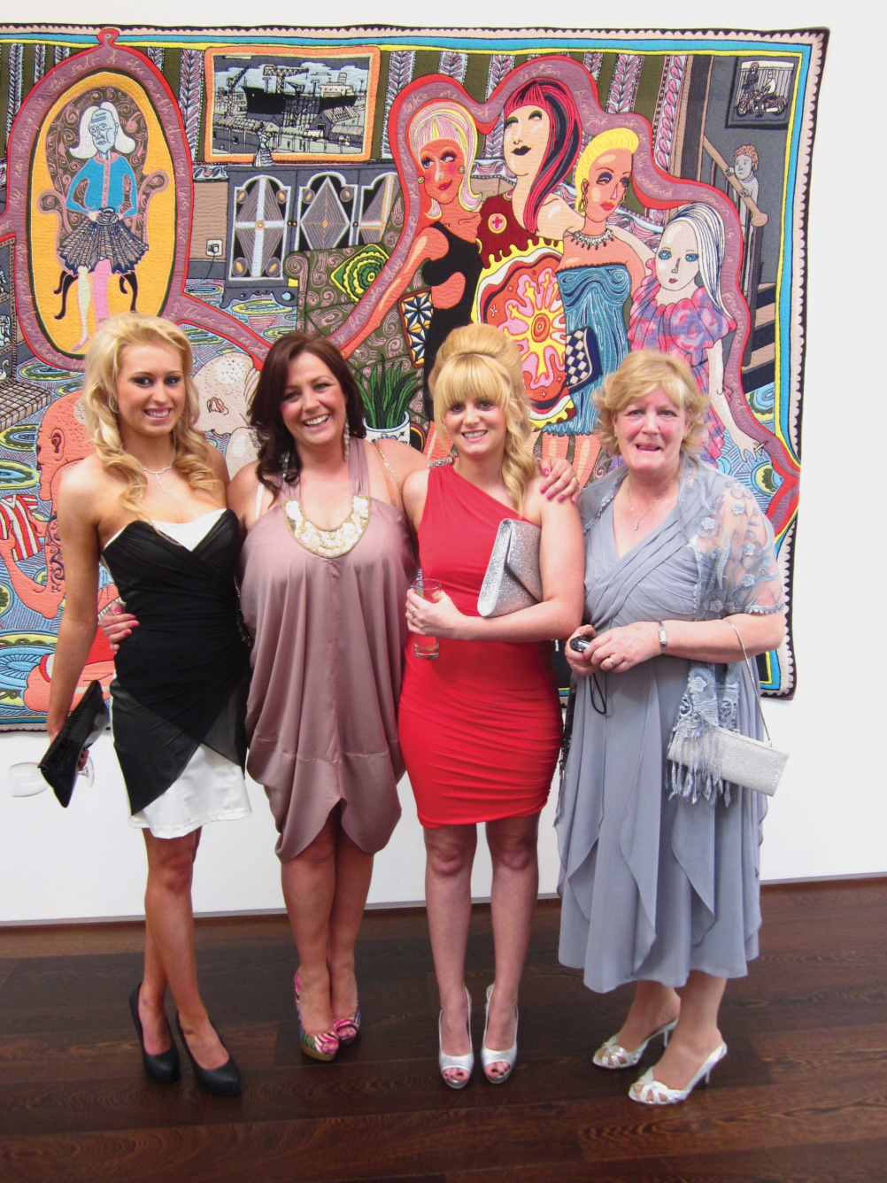 The ladies from Sunderland who inspired part of the tapestry