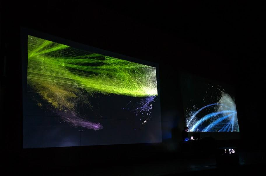Ryoichi Kurokawa live at  TodaysArt festival, Den Haag 2012