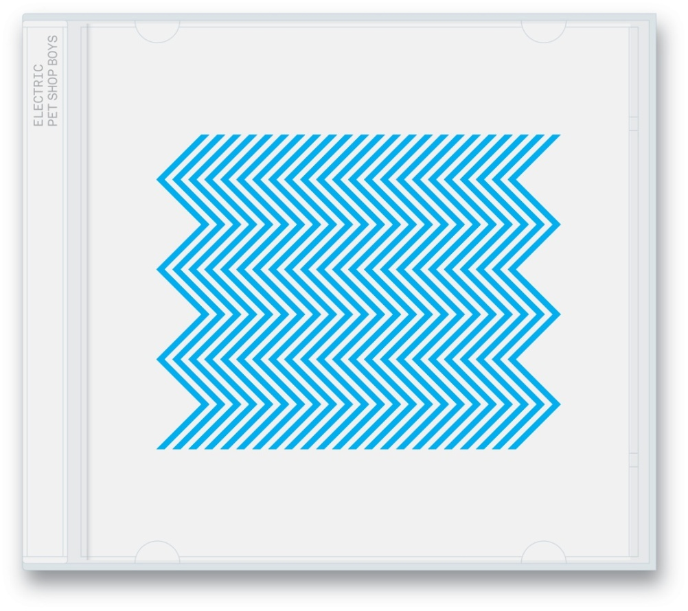 Sleeve art for the standard version of Electric by Pet Shop Boys was also designed by Farrow