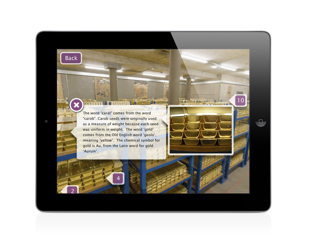 Touring the vaults in the new app