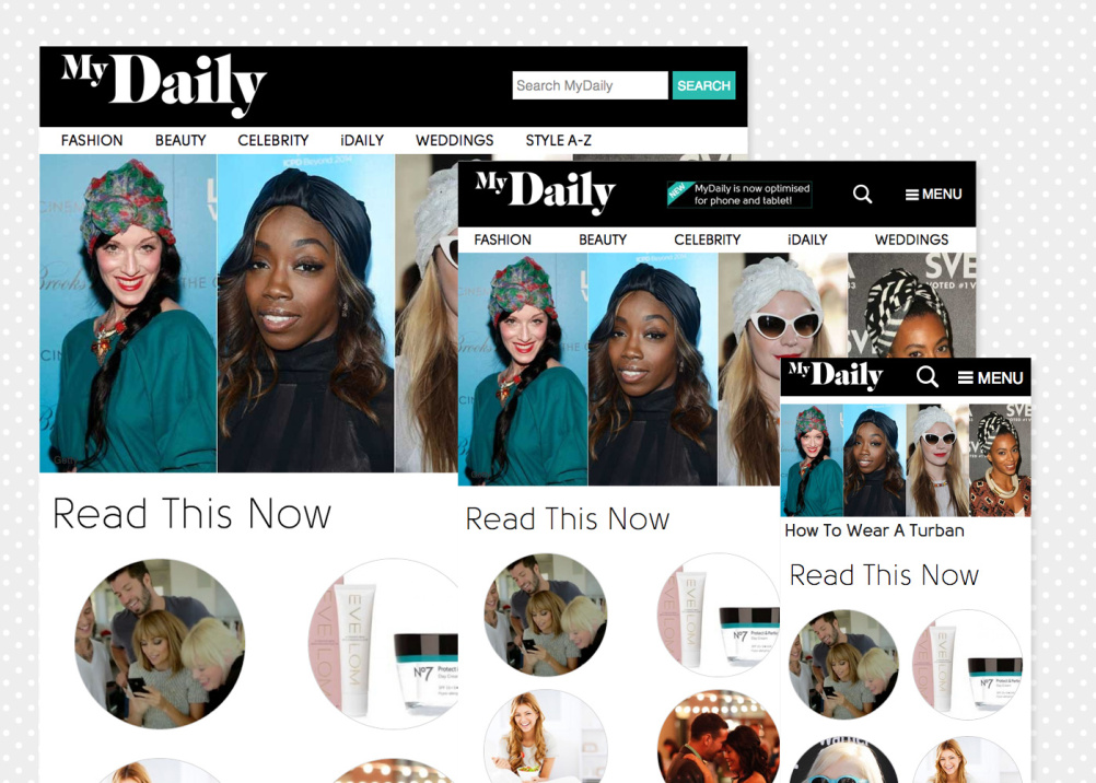 The MyDaily site